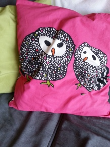 Owl Pillow Cover-Ikea $5