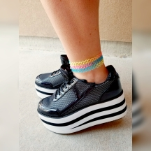 These shoes are so comfy and really cute!